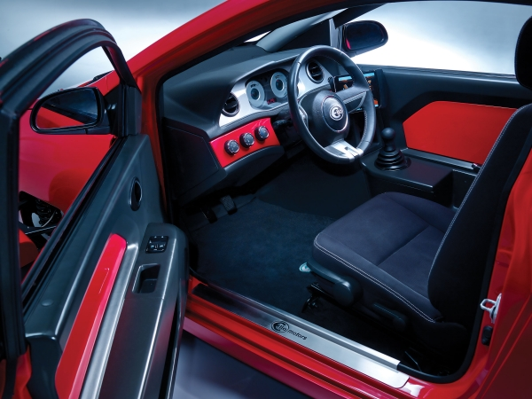 Elio's Interior for P5 Enclosed Tricycle