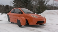 Elio Enclosed Motorized Tricycle